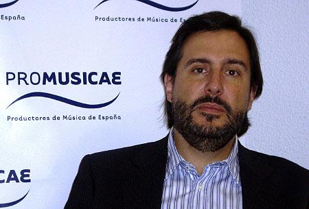 Antonio Guisasola, presidente de Promusicae.