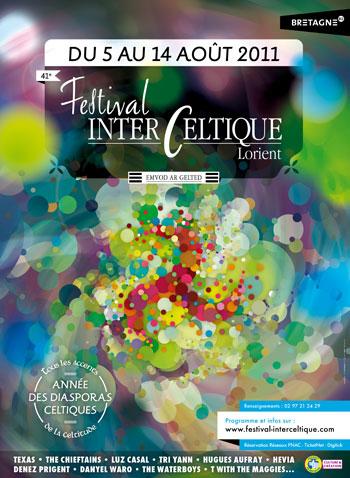 Cartel del 41e Festival Interceltique de Lorient.