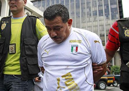 Juan Hernández Sánchez, el tercer detenido por el asesinato de Facundo Cabral.