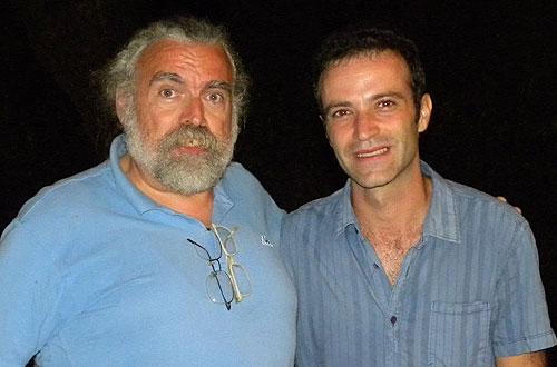 Federico Francesch y Mario Mas.