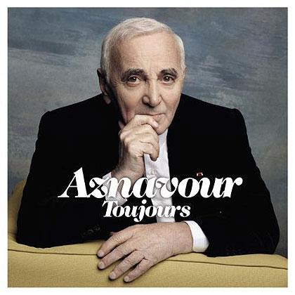 Portada del disco «Aznavour Toujours» de Charles Aznavour.