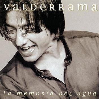Portada del disco «La memoria del agua» de Juan Valderrama.