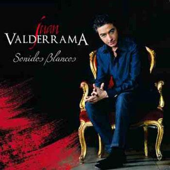 Portada del disco «Sonidos blancos» de Juan Valderrama.