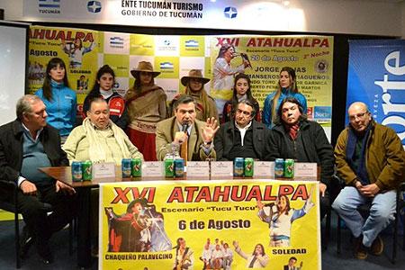 Presentación del XVI Festival Atahualpa