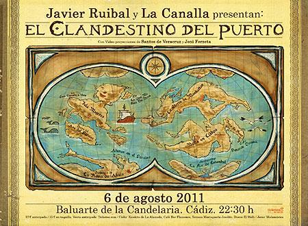 Cartel del espectáculo «El Clandestino del Puerto»