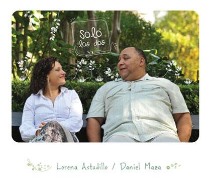 Portada del disco «Sólo los dos» de Lorena Astudillo y Daniel Maza.