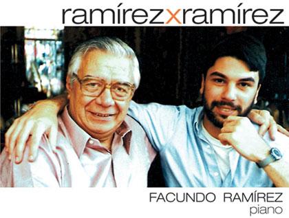 Portada de la reedición del disco «Ramírez x Ramírez» de Facundo Ramírez.