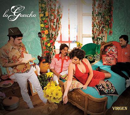 Portada del disco «Virgen» de La Guacha.