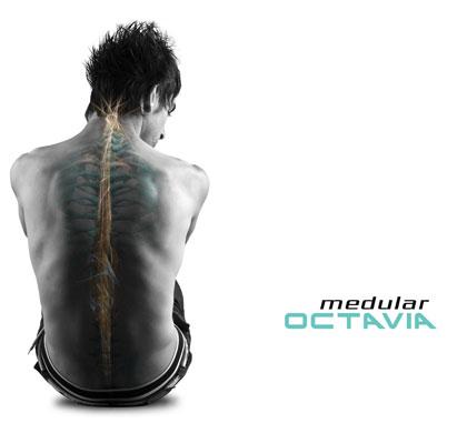 Portada del disco «Medular» de Octavia.