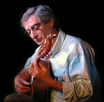 Juan Falú, fundador y director del Festival de Guitarras del Mundo.