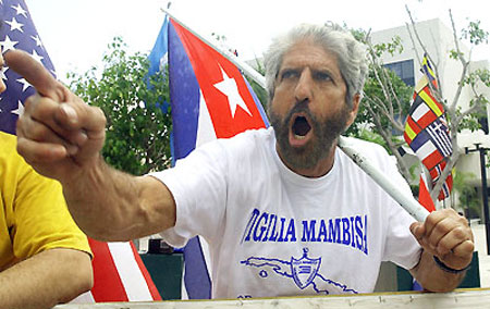 Miguel Saavedra, presidente de Vigilia Mambisa.