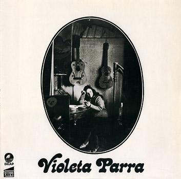 Portada de la edición alemana de Pläne (1973) de «Canciones reencontradas en París» de Violeta Parra.