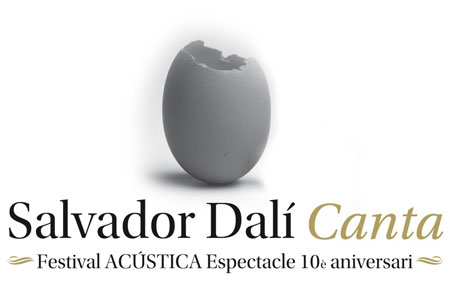 Cartel de «Salvador Dalí canta».