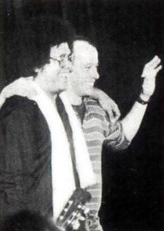 Pablo Milanés y Silvio Rodríguez, en otro tiempo hermanos.