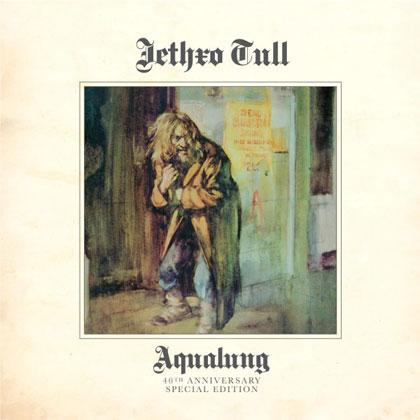Portada de la edición especial para coleccionistas del álbum «Aqualung» de Jethro Tull.