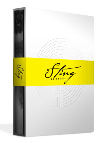 Caja «Sting: 25 Years - Deluxe Edition».