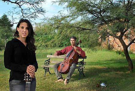 Clara Cantore y Gonzalo Pereira. © Natalia Modelo