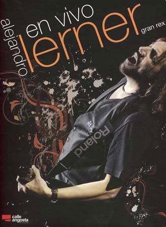 Portada del DVD «En vivo Gran Rex» de Alejandro Lerner.