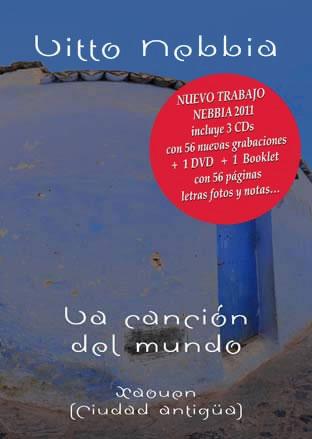 Portada del álbum «La canción del mundo» de Litto Nebbia.