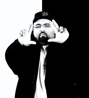 El rapero marroquí Don Bigg, alias el Jaser.