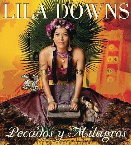 Portada del disco «Pecados y milagros» de Lila Downs.