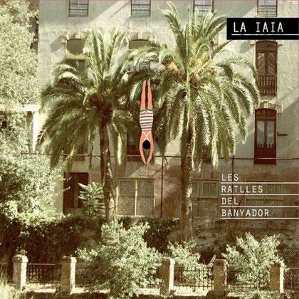 Portada del disco «Les ratlles del banyador» de La Iaia