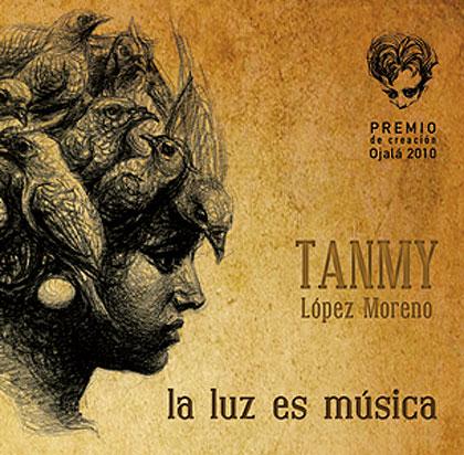 Portada del disco «La luz es música» de Tanmy López Moreno.