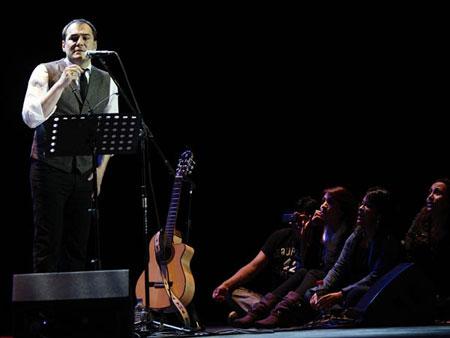 Ismael Serrano en Ecuador.