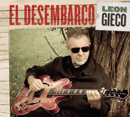 Portada del disco «El desembarco» de León Gieco.