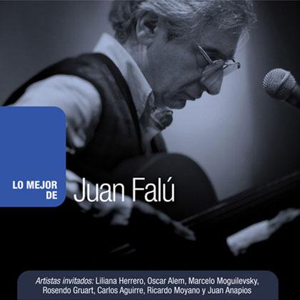 Portada del disco «Lo mejor de Juan Falú» de Juan Falú.