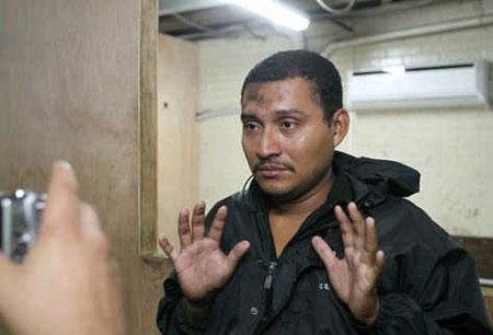 Audelino García Lima, de 27 años, implicado en el caso Facundo Cabral. © Álvaro Interiano