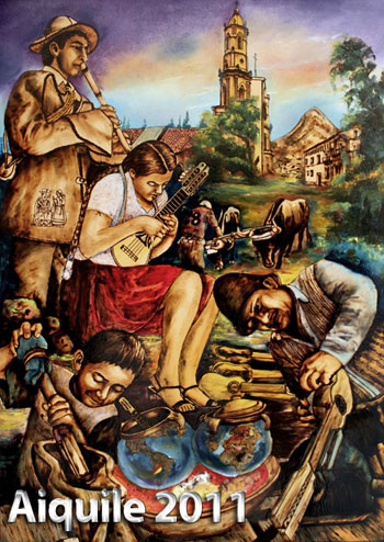 Afiche de la XXVIII Feria y Festival Nacional e Internacional del Charango.