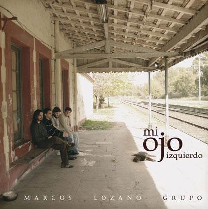 Portada del disco «Mi ojo izquierdo» de Marcos Lozano.