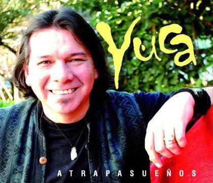 Portada del CD «Atrapasueños» de Yuca Córdoba.