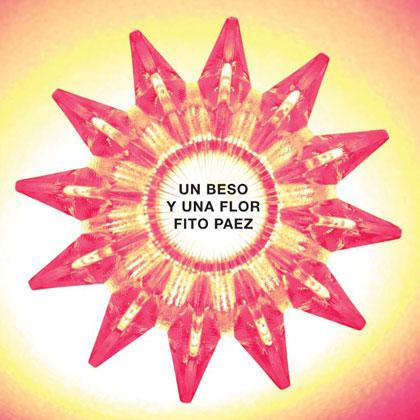 Portada del single «Un beso y una flor» extraido del CD «Canciones para Aliens» de Fito Páez.