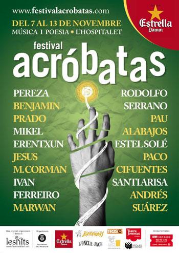 Cartel del Festival Acróbatas 2011