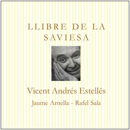 Portada del disco «Llibre de la saviesa» de Jaume Arnella y Rafel Sala.