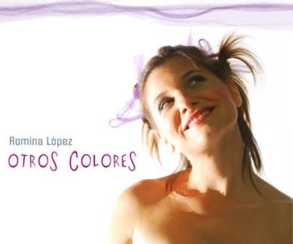 Portada del disco «Otros colores» de Romina López.
