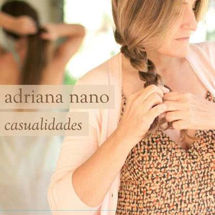 Portada del disco «Casualidades» de Adriana Nano.