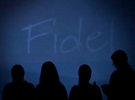 Homenaje a Fidel Gamboa.