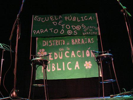 concierto por la educación pública en Madrid © David Carrascosa Campos