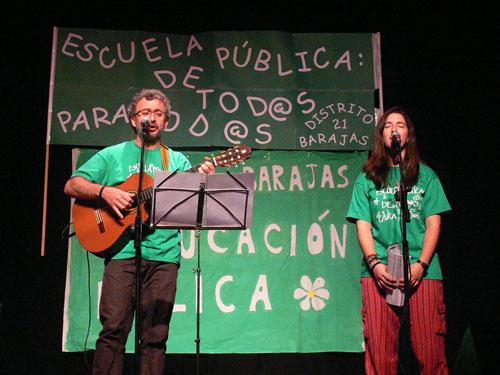 Fran y Marta Espinosa. Dos generaciones de trovadores. © David Carrascosa Campos
