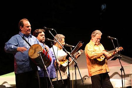 El grupo venezolano Serenata Guayanesa.