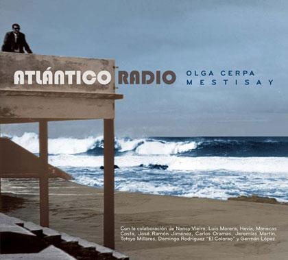 Portada del disco «Atlántico Radio» de Mestisay.