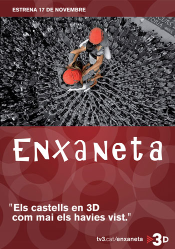 Cartel de la películal documental «Enxaneta».