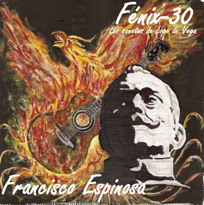 Portada del disco «Fénix-30» de Fran Espinosa.