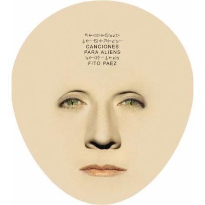 Portada del CD «Canciones para Aliens» de Fito Páez.