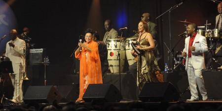 Buena Vista Social Club featuring Omara Portuondo.
