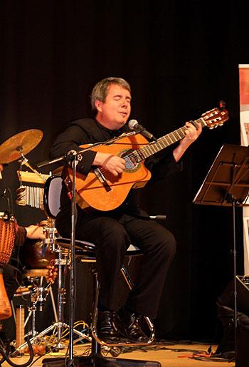 Ignacio Izcaray en el de conciertos «Venezuela es Música». © Embajada de Venezuela en España