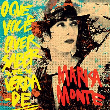 Portada del disco «O que você quer saber de verdade» de Marisa Monte.